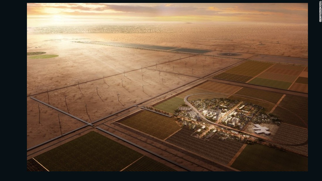 The CITE project will see future technologies developed in a $1 billion empty city in the New Mexico desert.