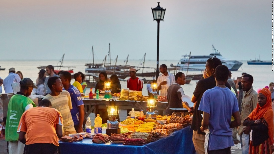 """Zanzibar is known as """"spice island."""" Delve into the tastes and textures of the island's markets that draw in flavors from African, Arab, Indian and European cuisine. Cloves, nutmeg, cinnamon and pepper are the lifeblood of Zanzibar's spice trade, an industry dating back to the 16th century and to which the island is indebted for its cosmopolitan feel."""