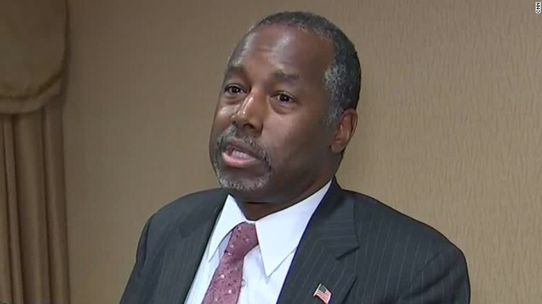 Ben Carson: 'Hitler' example is 'pretty clear'