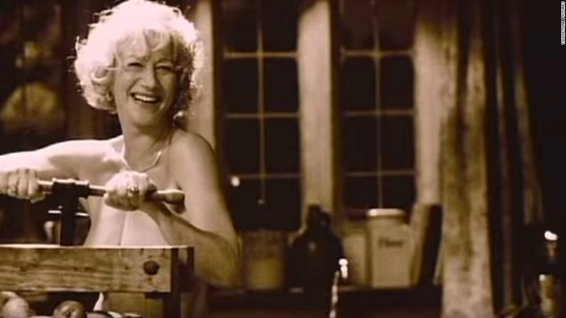 "Helen Mirren has appeared in several films topless or nude, including 2003's ""Calendar Girls,"" but she told Alan Cumming for the CBS show ""Remember That Time?"" that those days are behind her."