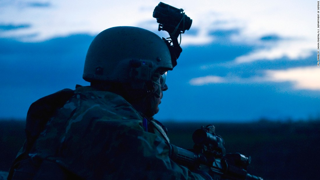 <strong>6. They were created by Congress</strong><br /><br />In this photo, a U.S. Army military information support operations sergeant with Special Operations Task Force-South provides security overwatch during the early morning hours of an operation to hinder insurgent activity in Kandahar Province, Afghanistan, in 2011.