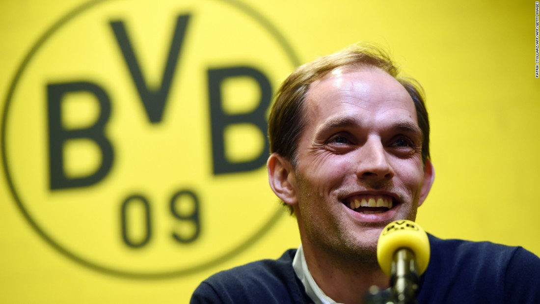 In April, it was announced that Thomas Tuchel would replace Jurgen Klopp as coach of Borussia Dortmund. Under Klopp, Dortmund had achieved great success, winning two German league titles in 2012 and 2013 and also reaching the Champions League final.