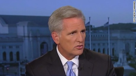 Kevin McCarthy clarifies Benghazi comments