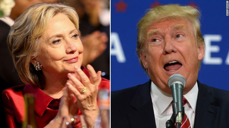 Hillary Clinton taunts Donald Trump