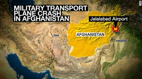 Plane crash Afghanistan locator