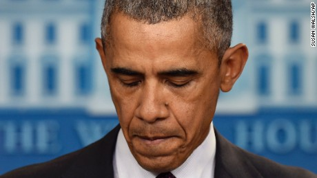 Obama leads country through grief