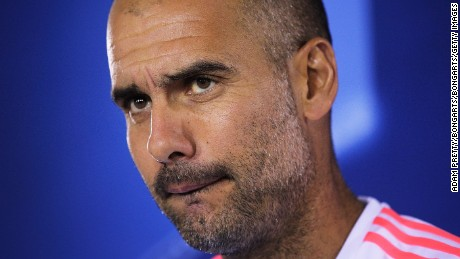 Where will Pep Guardiola land in England?