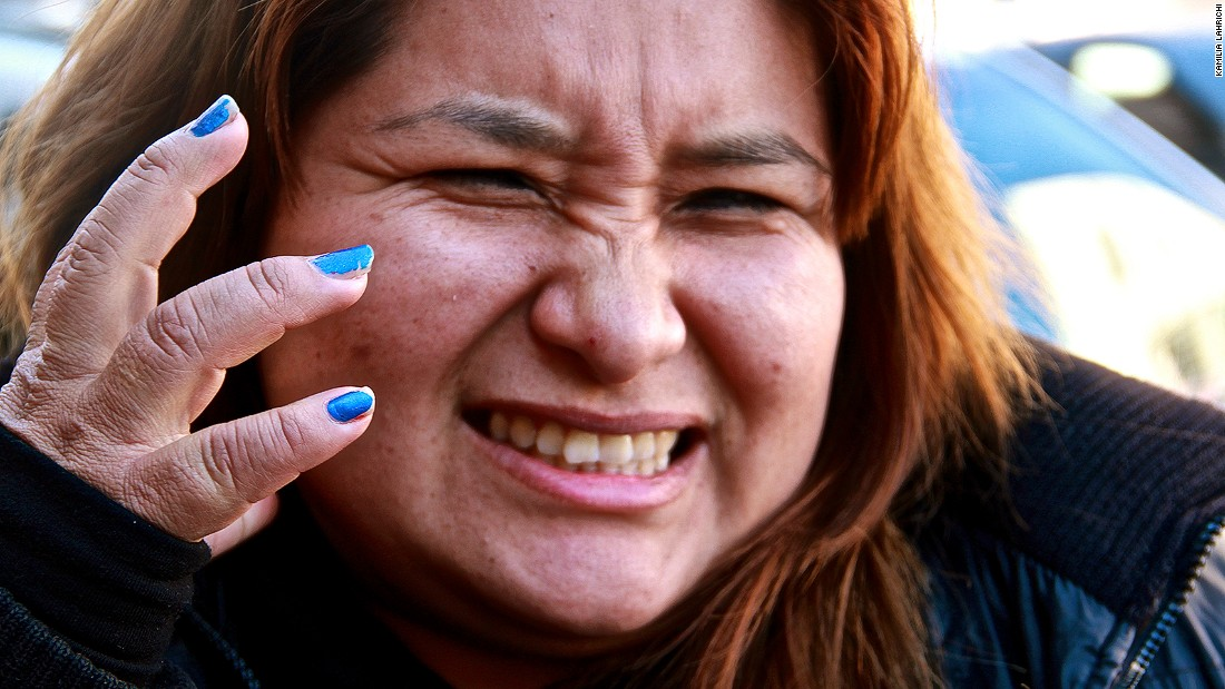 Most people, like this Peruvian woman, were horrified after their first sips of Fernet. Despite its bitter flavor, Argentina drinks more of it than any other country.