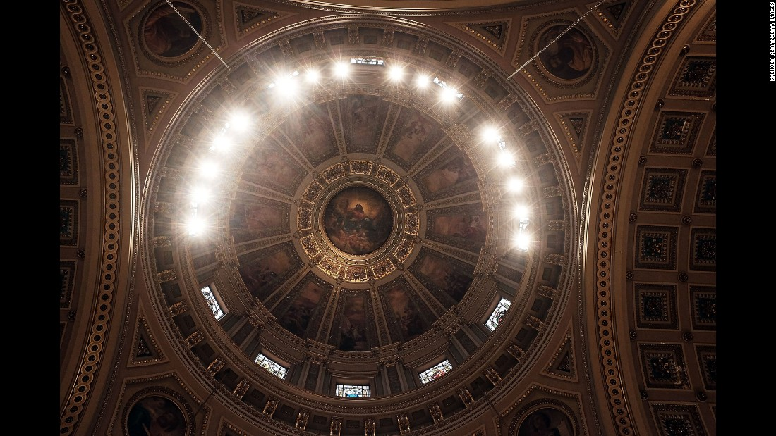 "The Cathedral Basilica of Saints Peter and Paul was one of Pope Francis' stops <a href=""http://www.cnn.com/2015/09/22/us/gallery/pope-francis-visits-united-states/index.html"">on his recent trip to the United States.</a> It was designed by American architect Napoleon LeBrun and completed in 1864."
