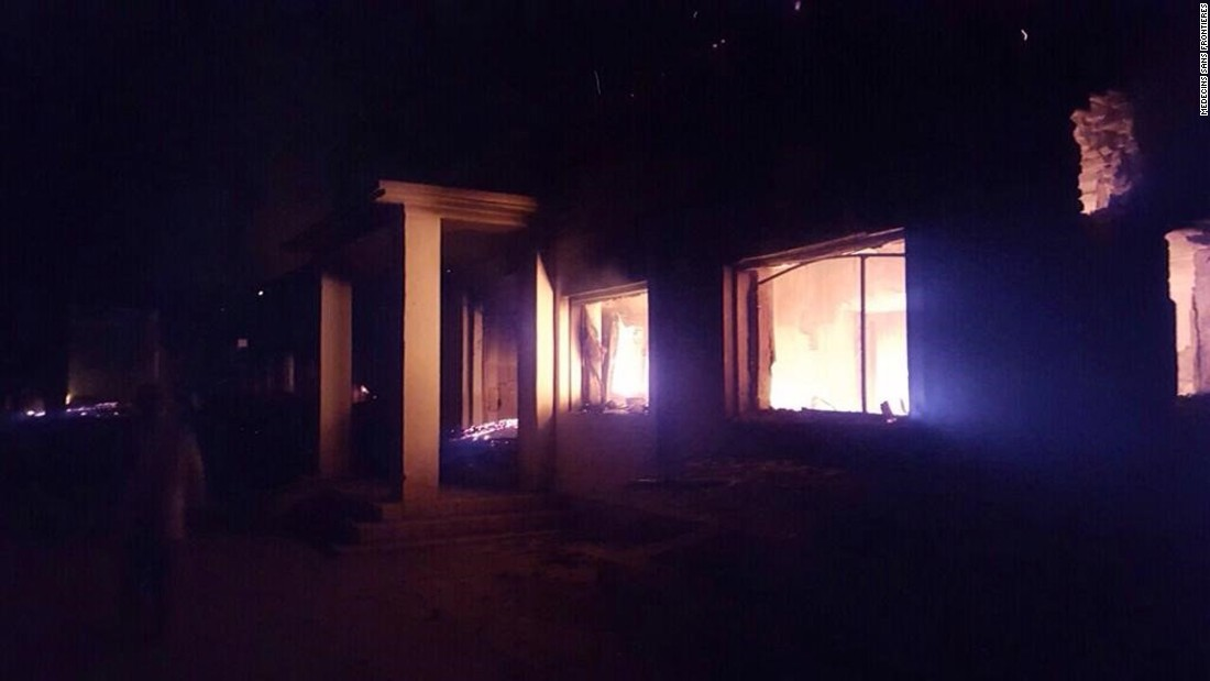 """Doctors Without Borders said it had emailed the GPS coordinates of its main hospital and administration office building at the Kunduz center before the airstrike.  The U.S. commander said airstrikes were called after Afghan troops advised they were """"taking fire from enemy positions.""""<br />"""
