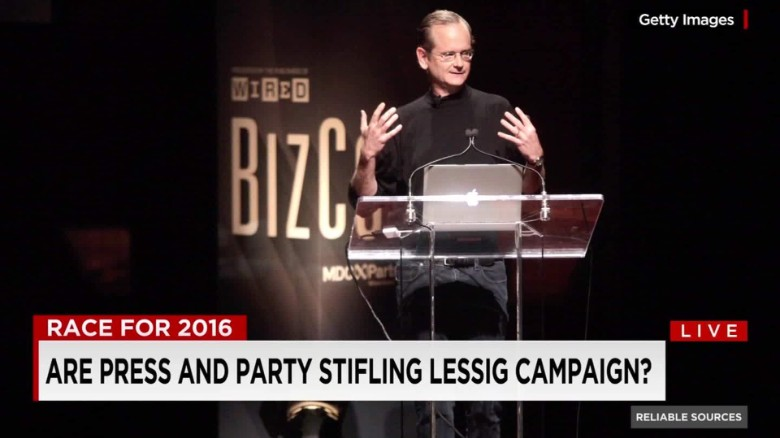 Are press and party stifling Lessig's campaign?_00002001