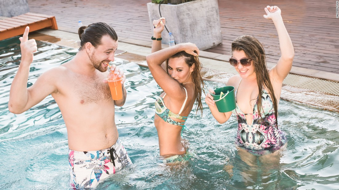 They've turned a utilitarian swimming hole into a pulsing pit of unfortunate dance moves. Poolside partiers try the nerves of 22% of respondents.