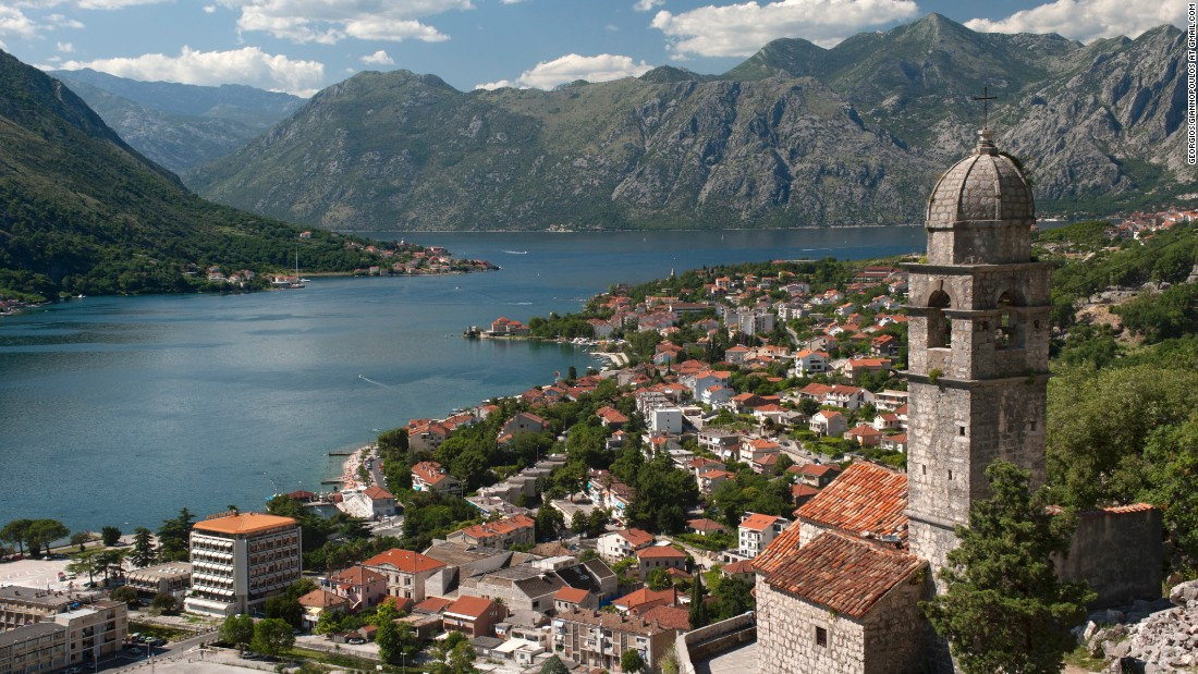 "The coastal town of Kotor in Montenegro was recently named by Royal Caribbean cruise ship captains as having one of the <a href=""http://edition.cnn.com/2015/10/07/travel/cruise-ship-captains-best-views"">world's most beautiful harbors</a>."