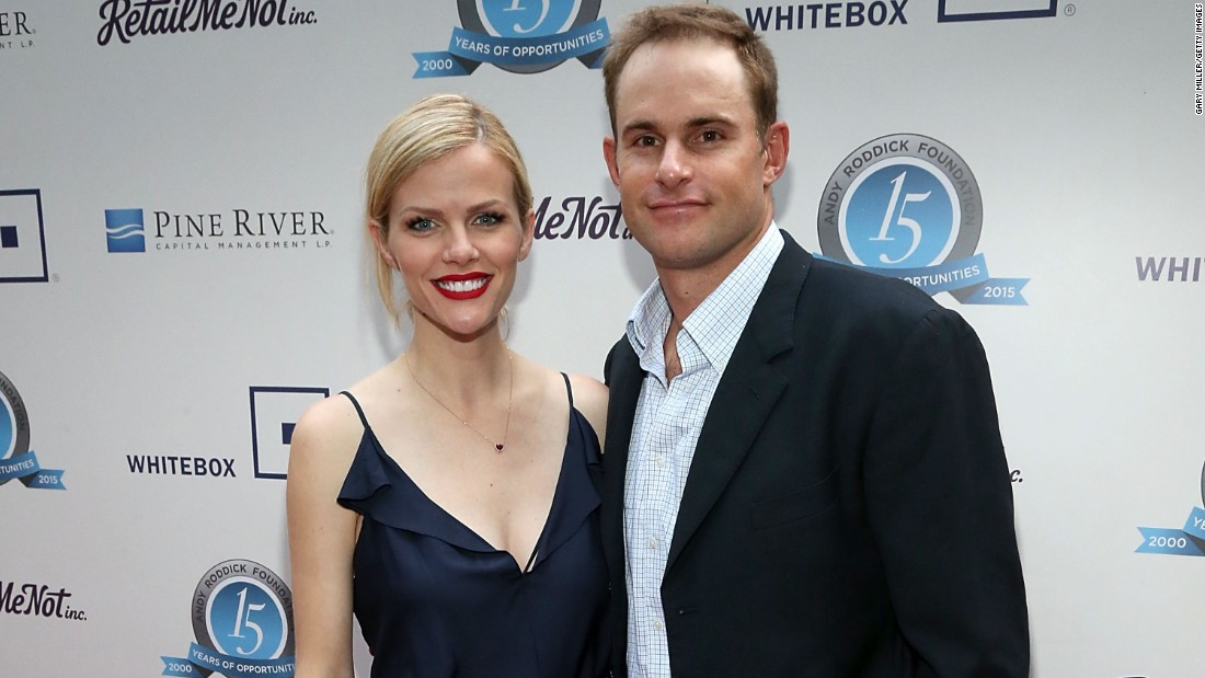 """Actress Brooklyn Decker and her husband, tennis star Andy Roddick, welcomed their first child -- a boy -- on September 30 in Austin, Texas, <a href=""""http://www.usmagazine.com/celebrity-news/news/brooklyn-decker-welcomes-baby-boy-with-husband-andy-roddick-2015410"""" target=""""_blank"""">according to US Weekly</a>."""