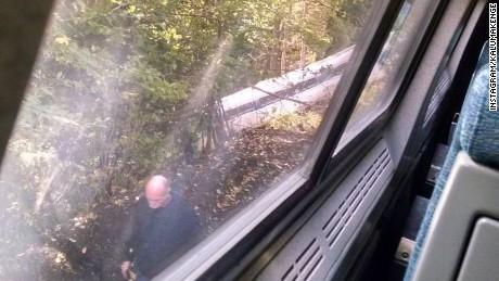 Amtrak Derailment Vermont
