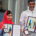 nobel peace prize - Malala and Satyarthi