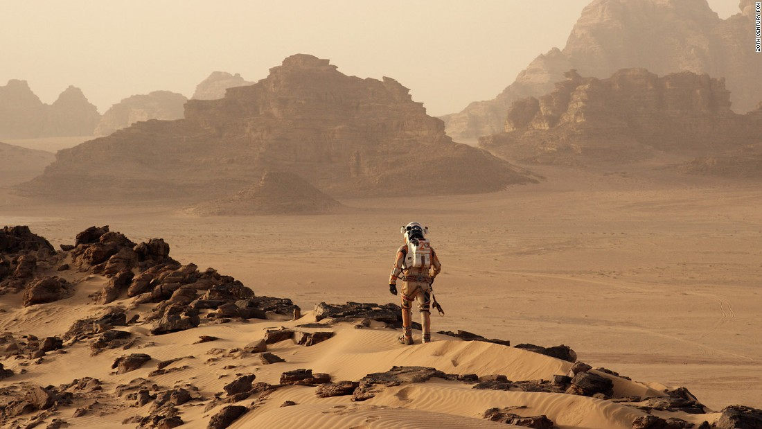 "<strong>Best motion picture -- musical or comedy: </strong>""The Martian"""