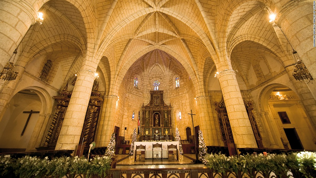 Dating to 1512, the Cathedral of Santa Maria la Menor in Santo Domingo is widely considered the oldest cathedral in the Americas. Gothic architecture, 500-year-old mahogany doors and the former site of Christopher Columbus' tomb all wow visitors.