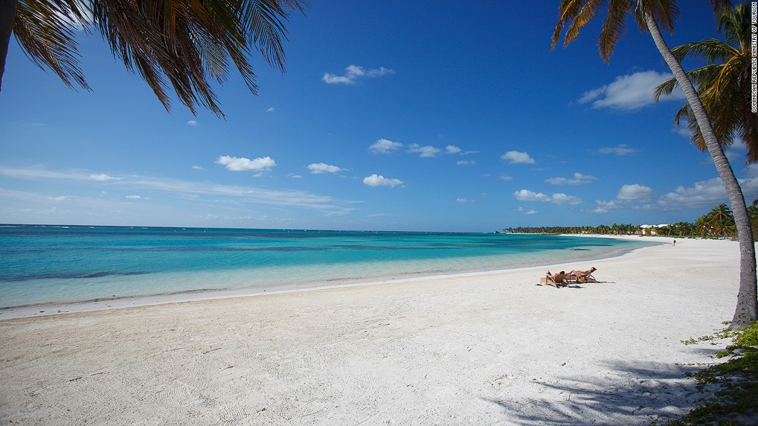 Punta Cana is a popular tourist and wedding destination, known for its impeccable white sand beaches.