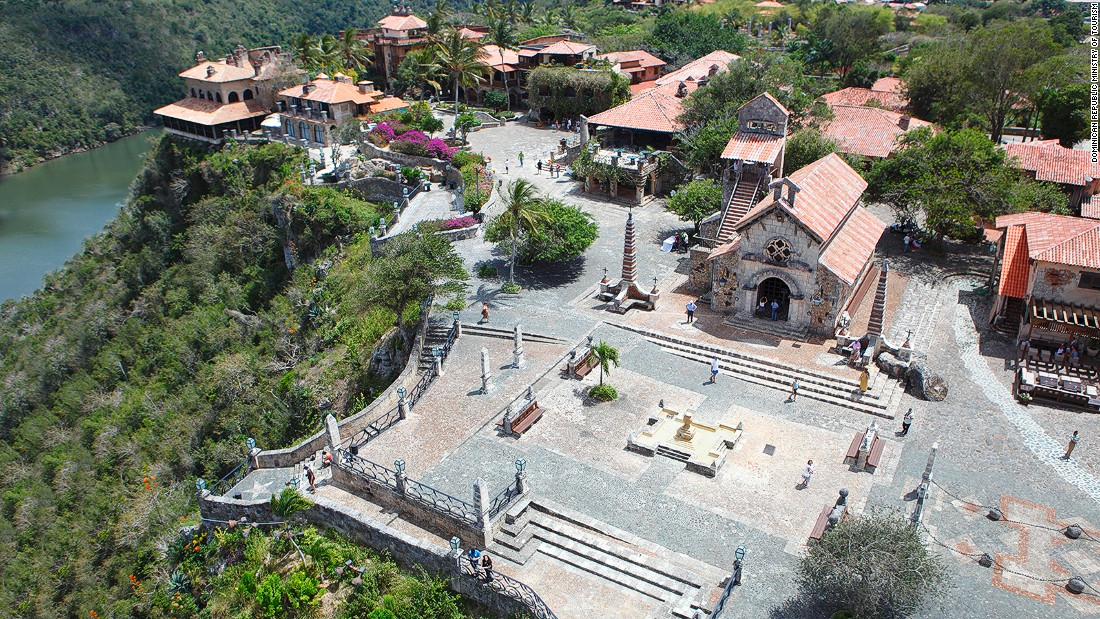 Altos de Chavon is a massive replica 16th-century Mediterranean village. It's home to a cultural center, an archeological museum and an amphitheater, but just walking around is impressive.