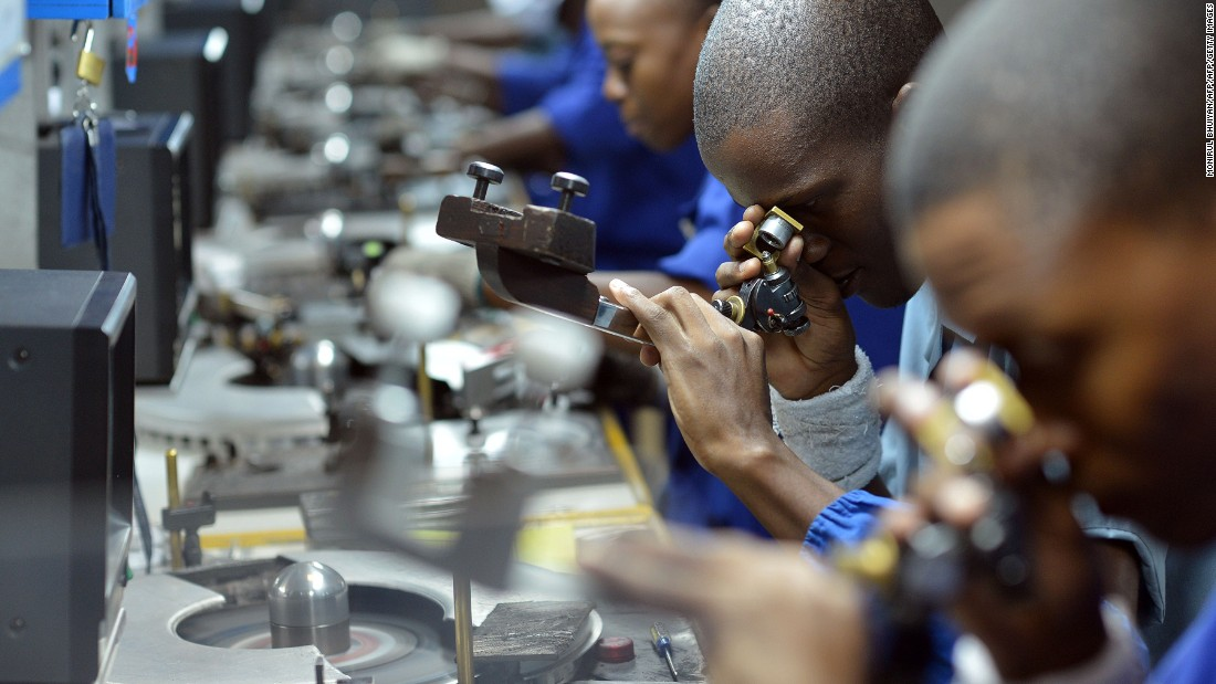 Known as an economy bolstered by its diamond industry, Botswana is recovering from the global financial downturn which wiped out 30% of the sector. There is still considerable work to be done in amending inefficient government bureaucracy and labor force worth ethic, but its position within Africa's top economies is consolidated by its macroeconomic environment and, amongst other things, one of the highest rates of mobile phone subscription in the world.