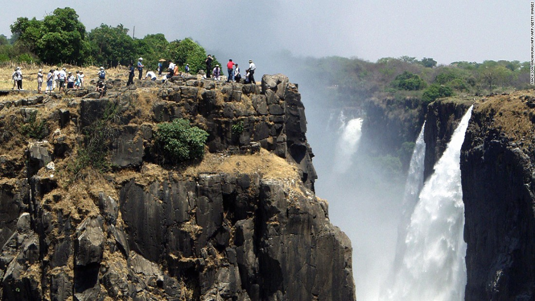 Zambia's Victoria Falls. The country shares the 47th overall position with Saudi Arabia and Taiwan.