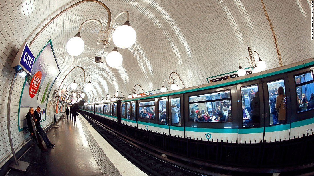 "The Paris Metro carries 4.2 million passengers a day and stinks like it too, says Giraud. ""For only 1.70 euros, you'll discover the smell of the Parisian Metro, a blend of sweat, garlic, onions and pee."""