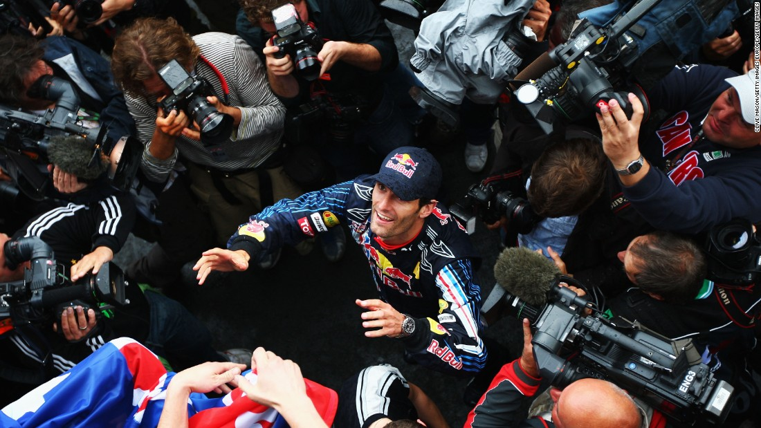 "What's Webber's favorite F1 moment? ""My first win -- Germany 2009,"" says the Australian, who was cast into the spotlight following victory at the Nurburgring."