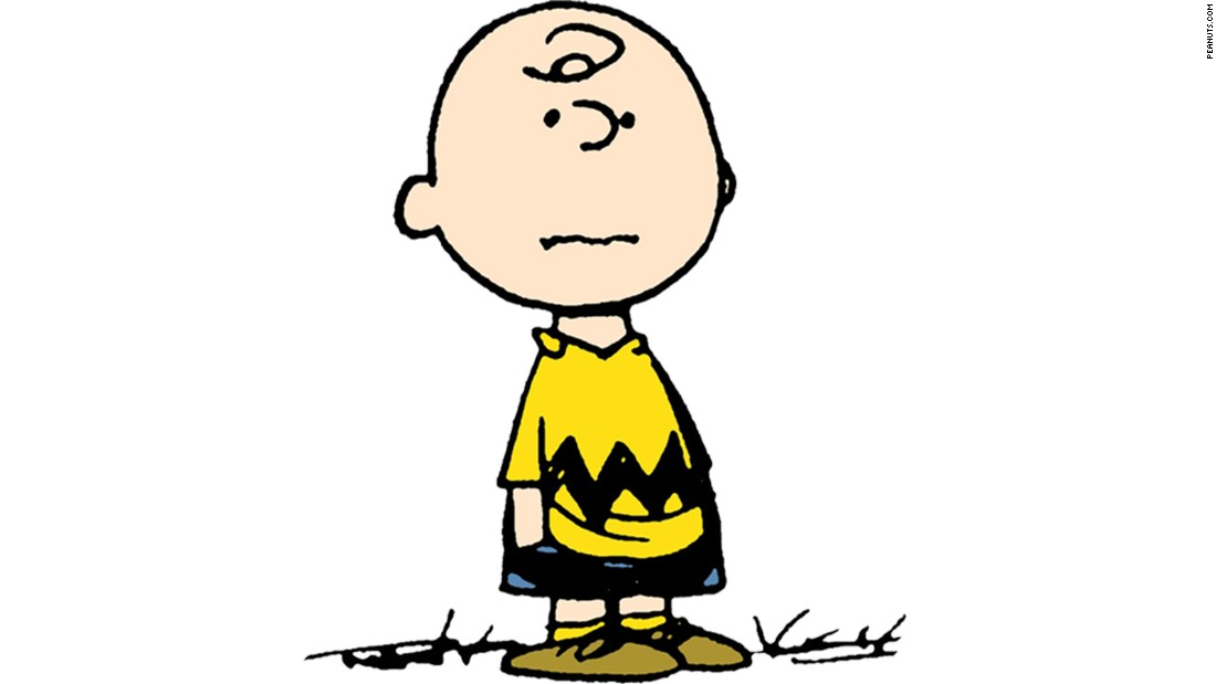 "There's a new ""Peanuts"" movie coming up, and Charlie Brown is as popular as always. If you're bald, this one is a slam dunk. Get crafty and cut out black felt or construction paper in a zigzag shape and staple it to your brightest yellow shirt. Slip on black shorts and brown shoes -- and maybe carry a tangled kite -- to be the most loveable sad sack at the party."