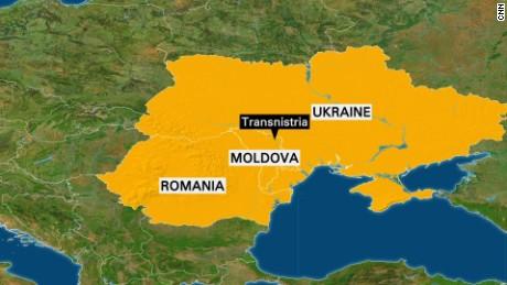 Ukraine Moldova Romania map