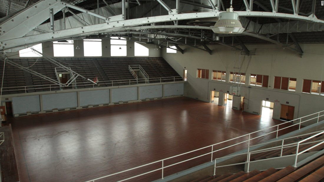 This once-vibrant venue was the home of one of the NBA's founding teams, the Sheboygan Red Skins.