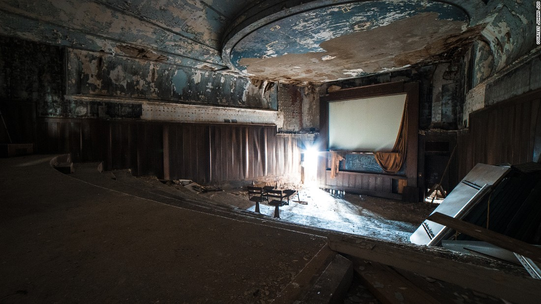 Joo says he's been involved with urban exploration (visiting abandoned sites in cities) since he was 16. <br /><em><br />Warner & Swasey Observatory in Cleveland, Ohio </em>