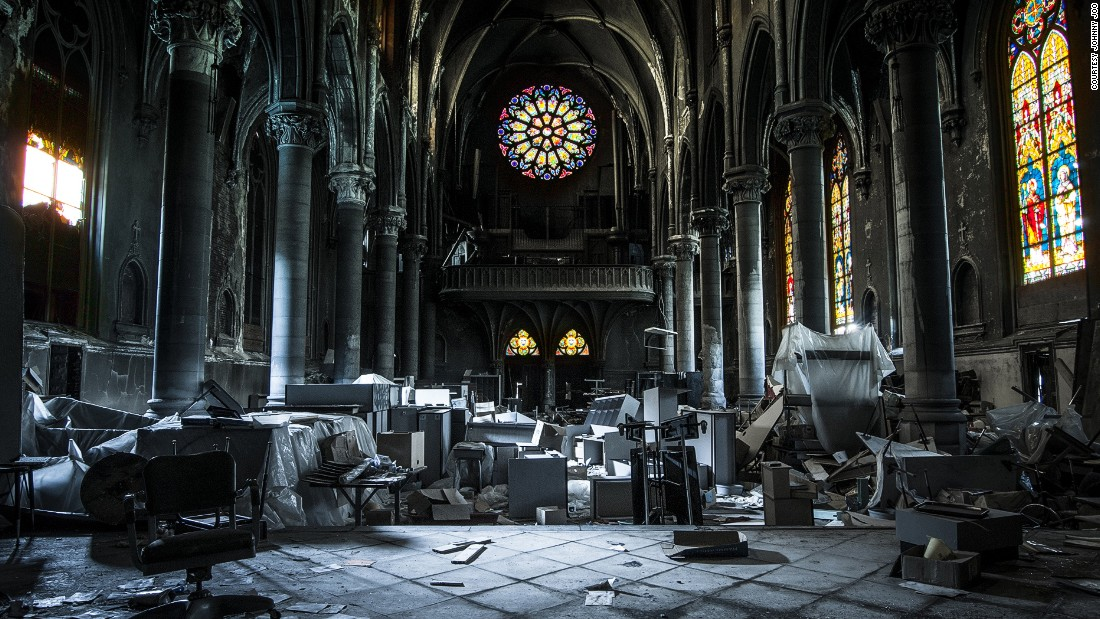 "Ohio photojournalist <a href=""http://architecturalafterlife.com/"" target=""_blank"">Johnny Joo</a> may only be 25, but he's already well known for his ruins photography.<br /><em><br />St. Peter and St. Paul Catholic Church in Pittsburgh, Pennsylvania </em>"