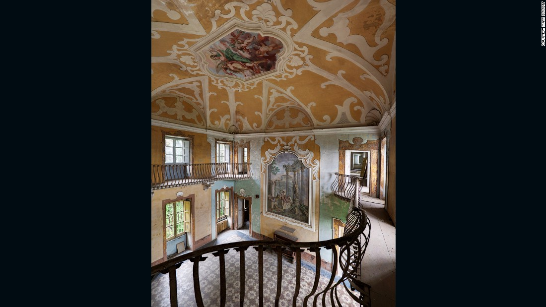 His first book, <em>Forgotten Heritage Vol. 1</em>, is set to be published next year. <br /><em><br />Italian Villa - Abandoned villa in northern Italy </em>
