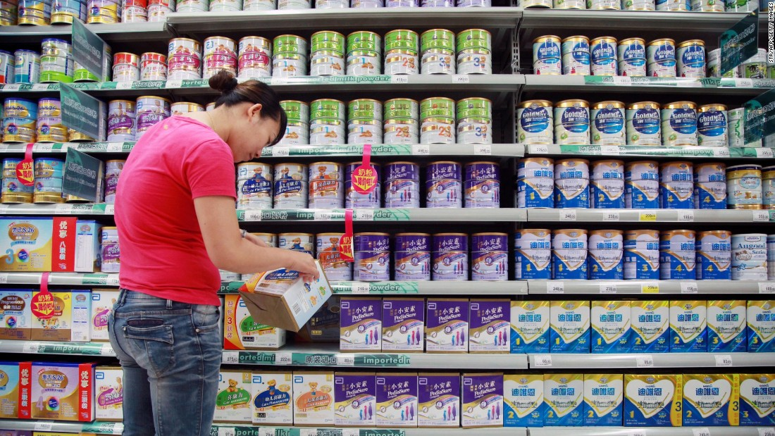 """The first infant formula wasn't created until 1867. It was a liquid mixture of cow's milk and wheat and malt flour,  cooked with potassium and called the """"perfect infant food."""" By the late 1800s infant formulas were marketed, and in 1951 the first nonpowder formulas were introduced, and shortly thereafter formula became more popular than breast-feeding."""