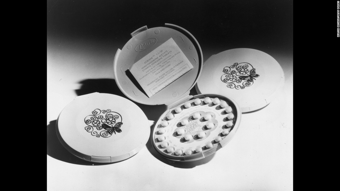 "A scientific and social breakthrough, ""the pill"" allowed women to separate sex from procreation for the first time. It was such a controversial idea that the makers of Enovid, the first form of birth control submitted before the U.S. Food and Drug Administration, presented it as a treatment for severe menstrual disorders. Approved in  summer 1957, it carried a warning: ""This pill will likely prevent pregnancy."" That year, an unusually large number of women had severe menstrual disorders."