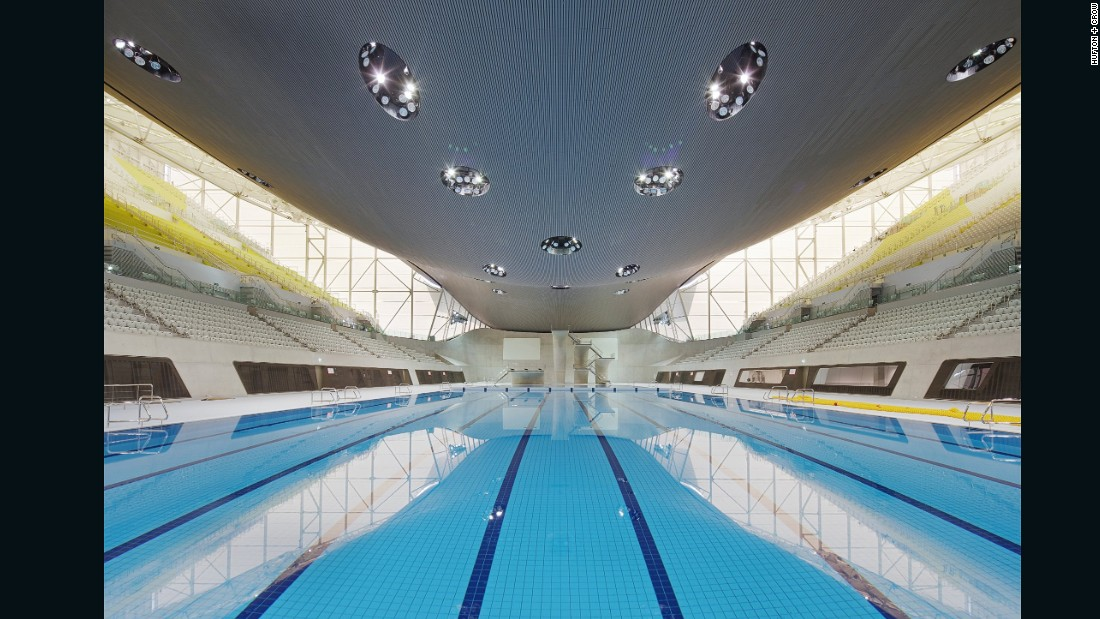 """Architecture should add to the drama of an event,"" Jim Heverin, project director of the London Aquatics Centre previously <a href=""http://edition.cnn.com/2015/10/14/architecture/gallery/world-architecture-festival-sports/"">told</a> CNN."