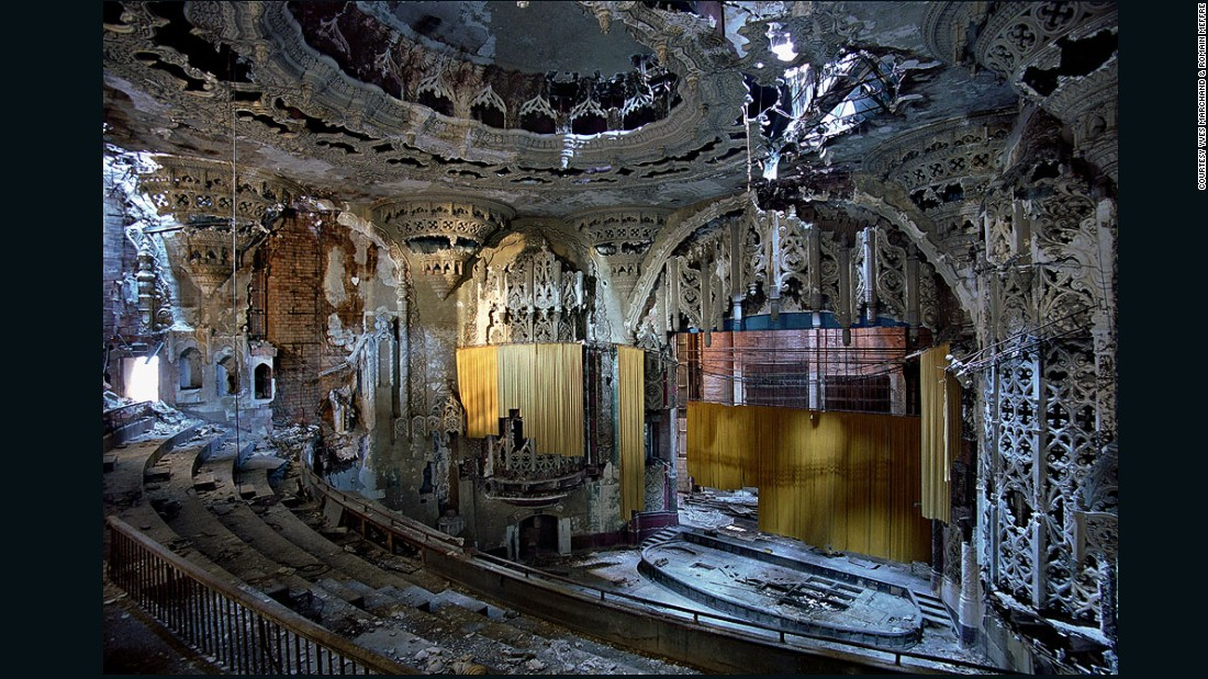"Their next exhibition, a series of abandoned American cinemas called <em>Theatres</em>, will run from October 10, 2015 to January 3, 2016 at the <a href=""http://www.caermersklooster.be/en/exhibition_movie_theaters"" target=""_blank"">Cultuurcentrum Caermersklooster in Gent, Belgium</a>. <br /><br />United Artists Theater, 2005 <em>(Detroit, Michigan) </em>"