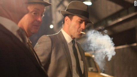 "Once upon a time everyone in America seemed to smoke, as portrayed in shows like ""Mad Men."""