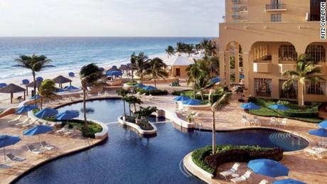 Mexico's only Ritz-Carlton.