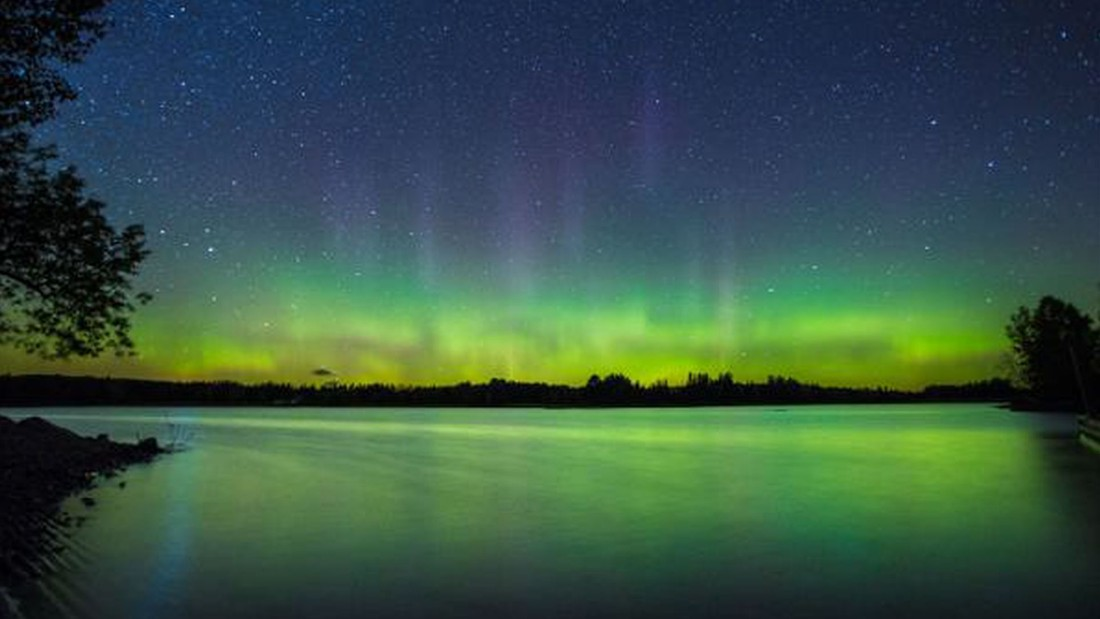 Northern Lights Visible In Parts Of U S And Europe Cnn Com