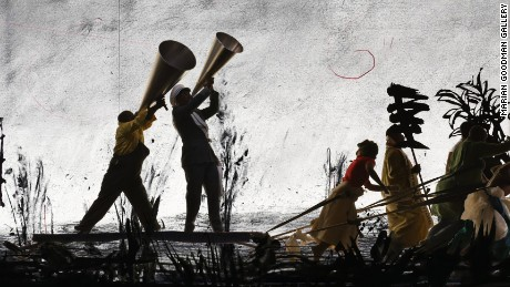 Artist William Kentridge's incredible refugee premonition