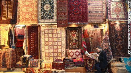 If business takes you to Istanbul, you can spend a few hours meandering through the city's Grand Bazaar.