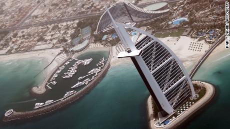 Burj Al Arab -- 321 meters of raw luxury.