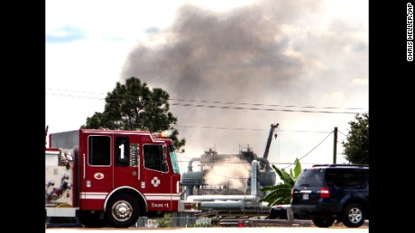 The explosion occurred at a Williams Partners' facility in Gibson, about 70 miles southwest of New Orleans.