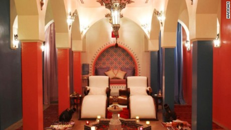 Therapists can perform up to 30 signature Hammam & Gommage treatments per day.