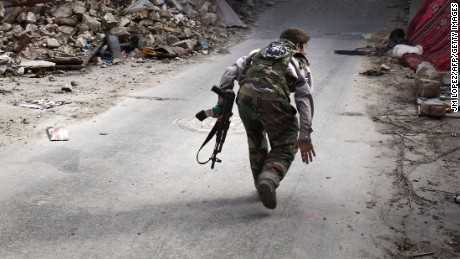 U.S. supplies Syrian rebels with 50 tons of ammo