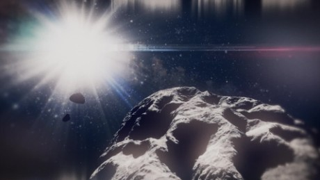 Asteroid water may one day power rockets