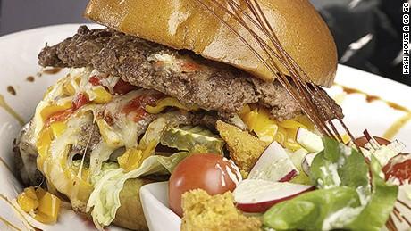 Go big or go somewhere else to eat.