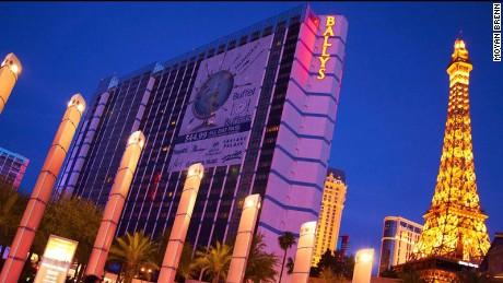 Better luck next time: The bright lights of Vegas.